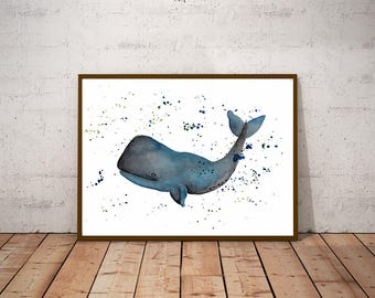 "Illustration ""Baleine"""