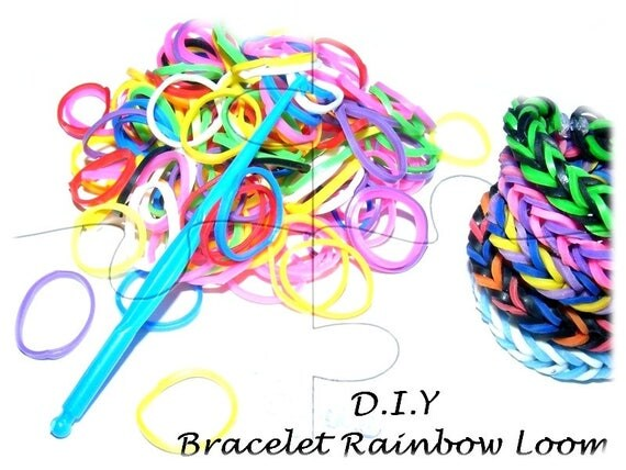 "Colorful elastic child Bracelet ""DIY"" Kit"