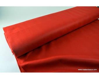 Red polyester felt craft creative x50cm
