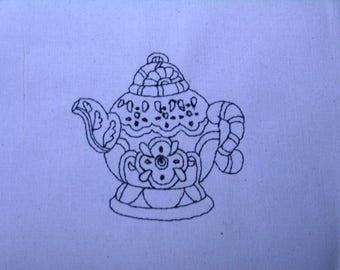 Decorative Teapot 004 4x4