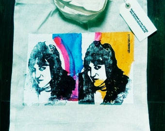 Noel Fielding Pop Art tote bag