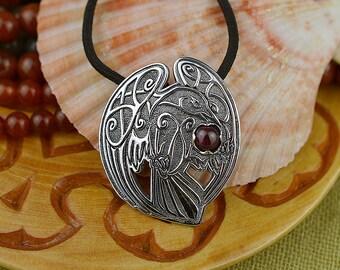 Celtic Knot Raven Etsy
