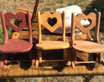 Baby Doll Rocking Chair