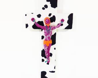 Pop Art Crucifix