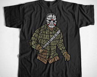 T-Shirt Jason S M L XL 2XL 3XL 4XL Horror Cristal Lake Friday the 13th Cult