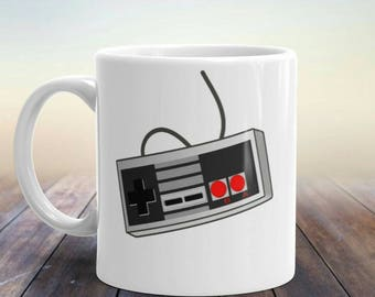 Gamer Coffee Mug, Mug For Gamers, Geek Coffee Mug,Classic Gamer Mug, Best Gamer Gifts, Gift For Boyfriend, Gamer Gifts For Him, Retro Gaming