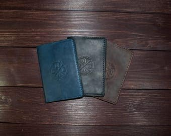 Leather Passport Cover, Passport Holder, Gifts For Travelers, Travel Gifts, Passport Leather Pouch
