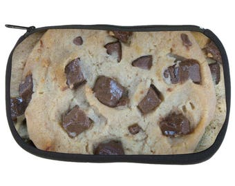 Chocolate Chip Cookies Chunks Pencil Pouch