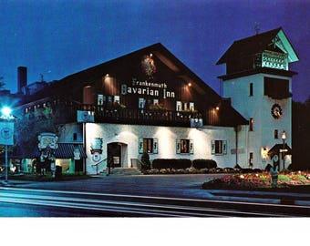 Vintage Michigan MI Postcard Frankenmuth Bavarian Inn Restaurant Hotel Travel Souvenir Unposted
