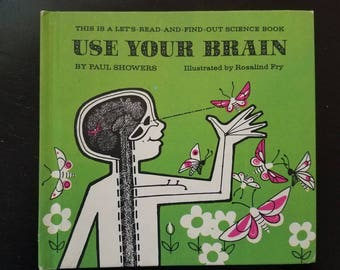 Use Your Brain Let's Read and Find Out Science Hardcover 70s