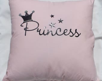 Swarovski Princess Throw Pillow