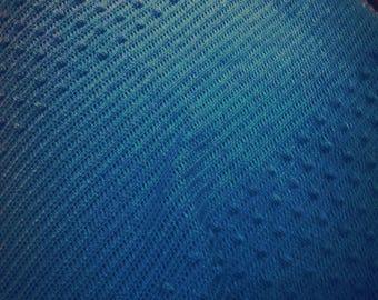 "Hand crochet crib,pram,car seat baby blanket,blue baby blanket 26""x32"""