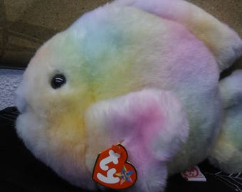 Ty Beanie Buddies Coral the ty-dyed coral fish