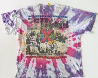 Vintage Tie Dye  The X-fest 99 adult Large size
