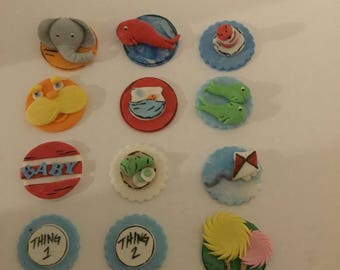 Seuss inspired baby cupcake toppers (12)