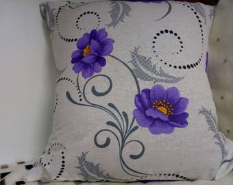 Flower Motivated Pillow Cover