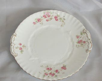 W.A.A & Co. SPRAY No 56 Antique Serving Platter Plate Handles Embossed 1886 Adderley