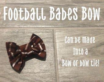 Football Babes Bow