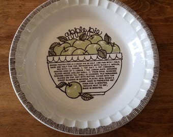 Vintage Ceramic Pie Dish