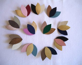 "Brooch ""3-petal"" for women and teen, colors, specify when ordering"