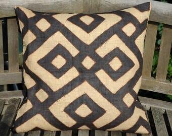 "Kuba Cloth cushion cover 50x50cm (20x20"") KC55"