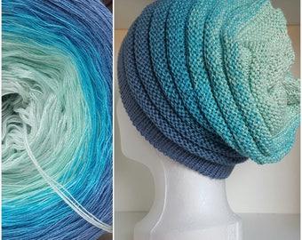 GOLDY gradient designer yarn yardage selectable Knitting Crochet handmade
