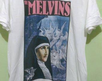 Vintage 93 The Melvins Frank Krozik Poster Gigs T Shirt