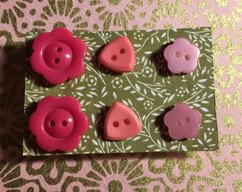 SALE!!! Button earrins