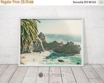 SALE Palm Tree Print, Beach Decor, Tropical Palm, Tropical Decor, Tropical Art, Photo Print, Printable Art, Fine Art Photography