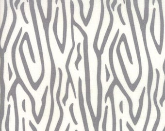 Sale Zebra Stripe in Pewter from the Savannah Collection by Gingiber for Moda, Safari, Zebra Stripe