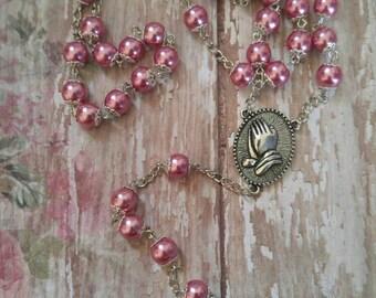 Muave Pink Pearl Elegance