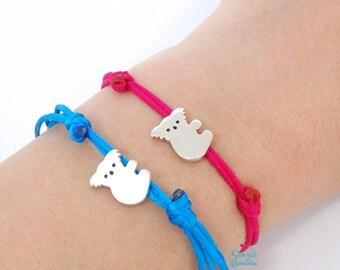 Koala bracelet | Silver koala bracelet | Sterling Silver Koala | Bracelet koala | Bracelet silver Koala | Cute Koala australian animal | Koala