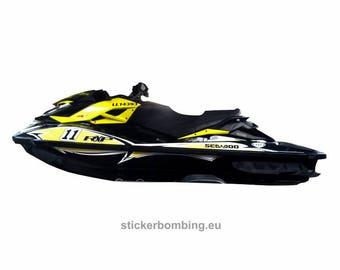 Sea-Doo RXP-X 260 RS, 300, 260 Jet Ski Full Set Stickers