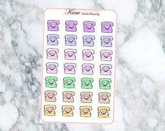 Sketch Phone Planner Stickers