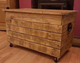 Toy chest ottoman