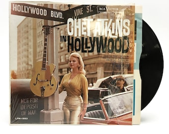 """Chet Atkins """"In Hollywood"""" LP"""
