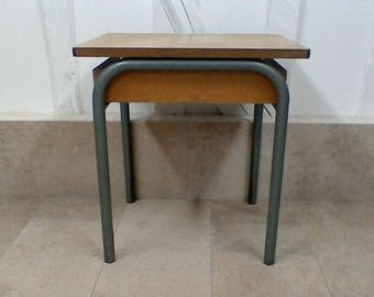 Vintage school table.