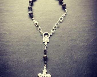 Titanium Car Rosary