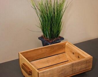 Maple Wood Basket, Decorative Basket, Wood Baskets, Display Basket, Wood Storage Basket, Wooden Baskets, Basket Organizer, Wooden Bin