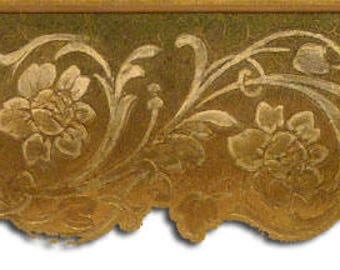 Floral Wallpaper Border 65123DC