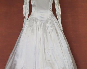 Vintage Victorian Ball Gown