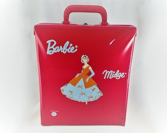 Mattel Vintage Barbie 1962 Carrying Case Midge