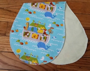 Ark burp cloth