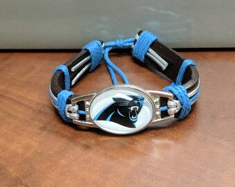 Carolina Panthers bracelet