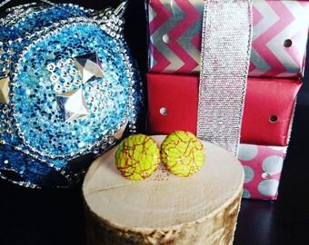 Grinch Christmas Earrings, Christmas Earrings, Lace Earrings, Stocking Stuffers, Grinchy Green Earrings, Christmas Jewelry