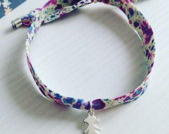 Colored bracelet.