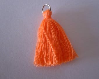 Long tassel orange 3.5 cm