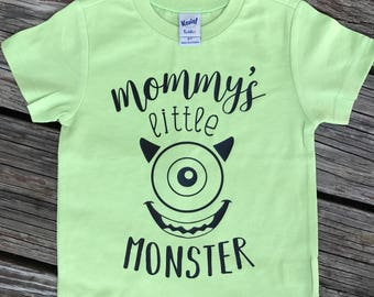 Mommy's Little Monster Tee