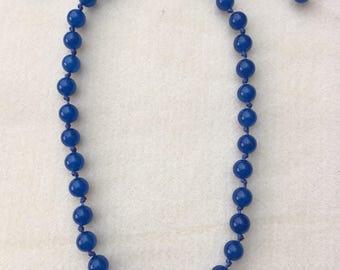 9mm Blue Quartz necklace