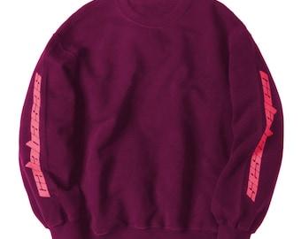 Calabasas Season 4 Kanye West Yeezy Saint Pablo Tour Crewneck Sweatshirt Merch Kanye West Sweatshirt
